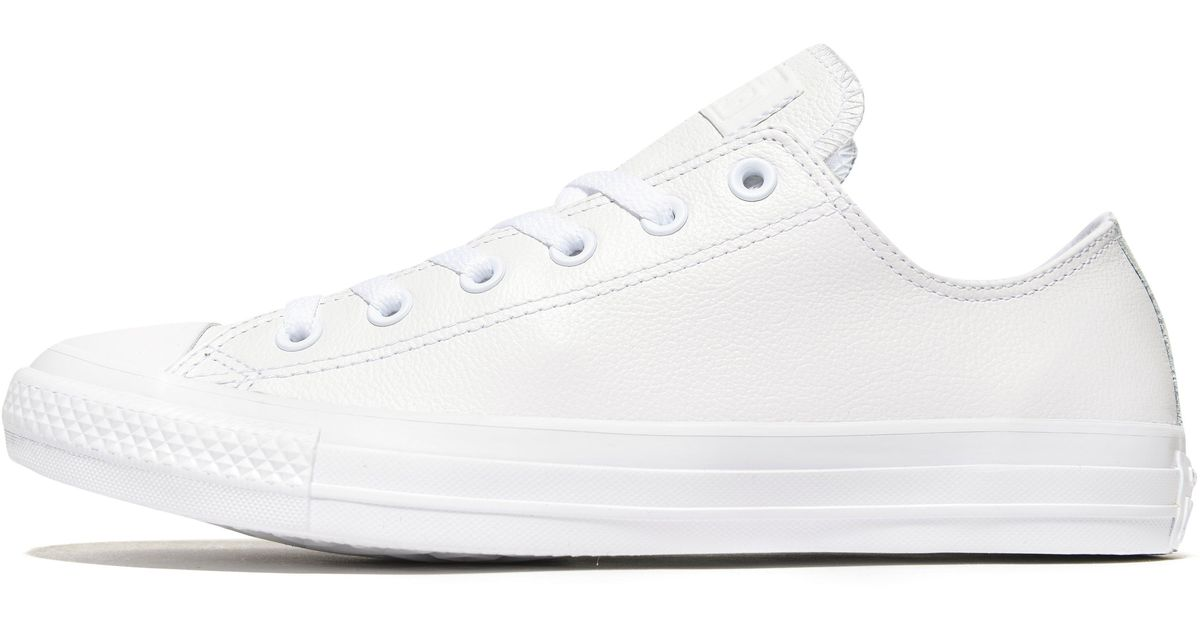 White Lyst Leather Ox In All Converse Mono Star F0wrq07gnB