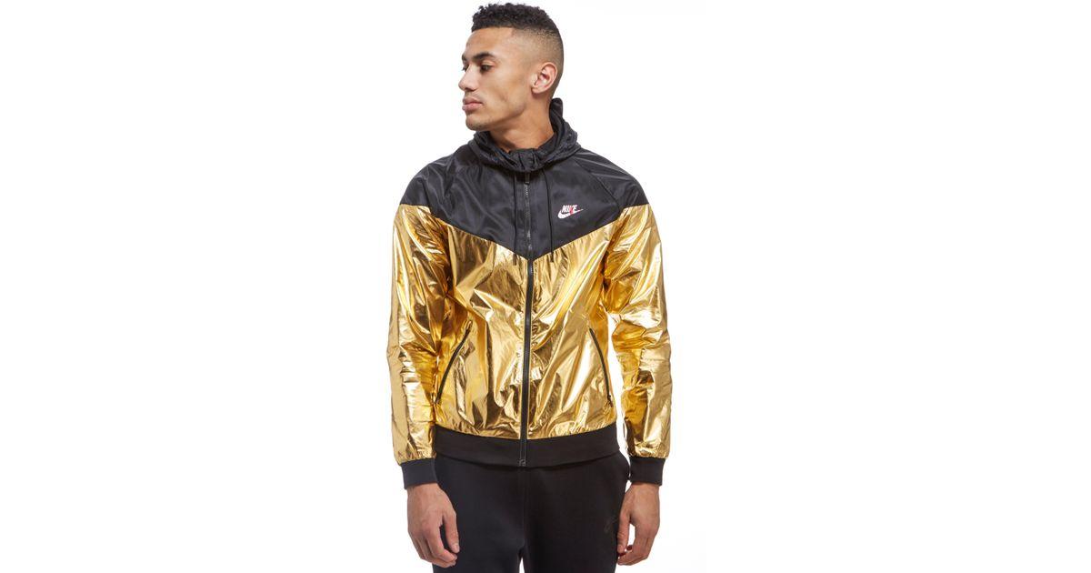 Lyst - Nike Windrunner Lightweight Foil Jacket for Men a53a56993