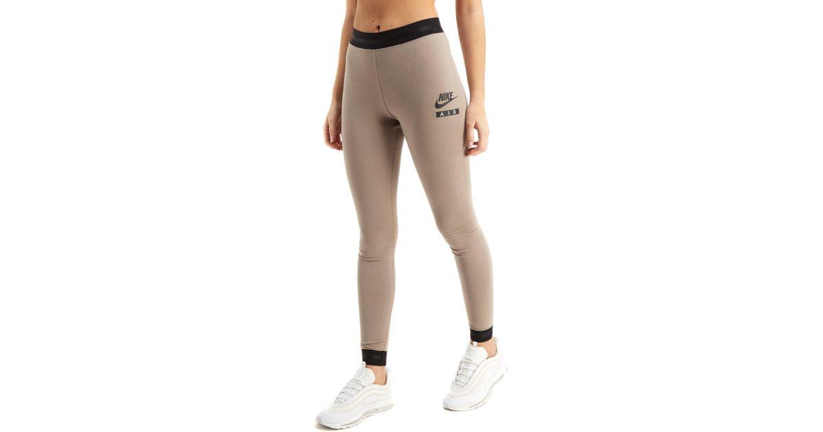 Lyst - Nike Air High Waist Leggings in Natural 89ec48248cb4