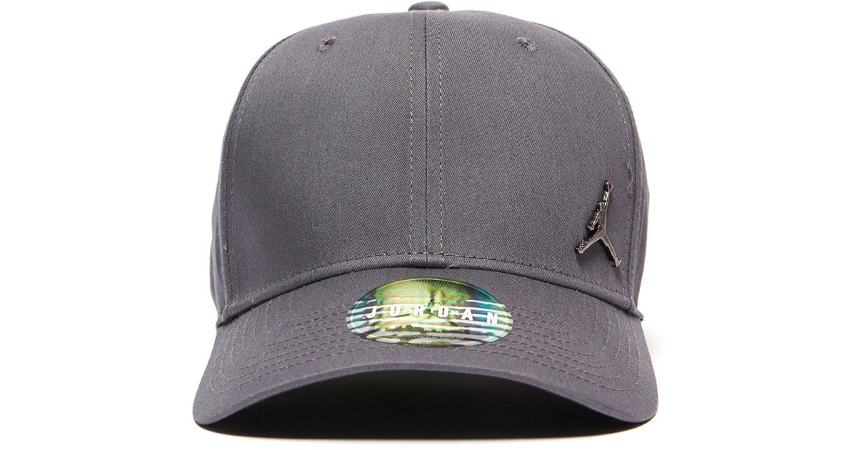 a47b4ed734d ... coupon code for jordan metal jumpman cap in gray for men lyst 919aa  5e101