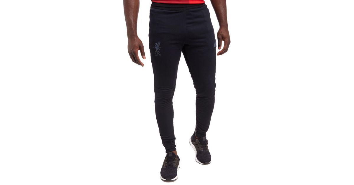 70b62733e1e72 New Balance Liverpool Fc 2017 Tech Pants in Black for Men - Lyst