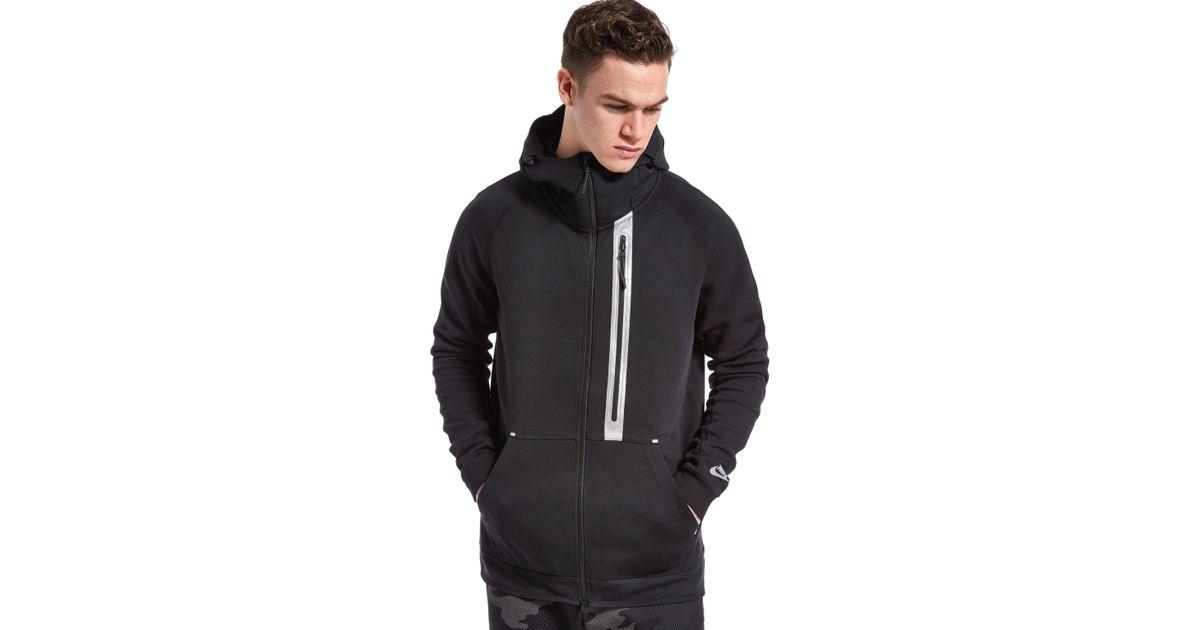 5fabd559cf581 Lyst - Nike Tech Fleece Windrunner Hoody in Black for Men