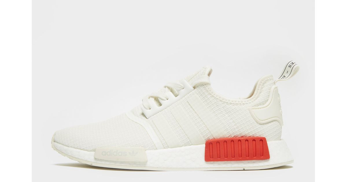 d4ebf132c adidas Originals Nmd R1 Ripstop in White for Men - Lyst