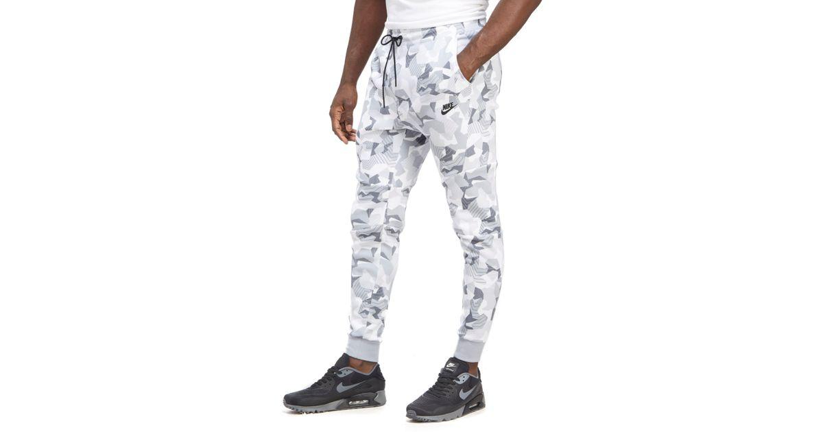 Lyst Camouflage In Tech Men For Fleece Pants Nike White AAwf4Fv