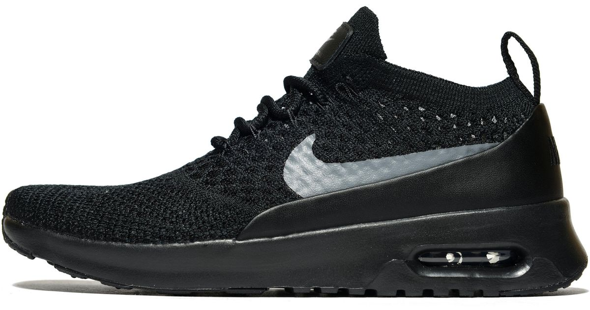 sale retailer 6049d a690c Nike Air Max Thea Flyknit in Black - Lyst