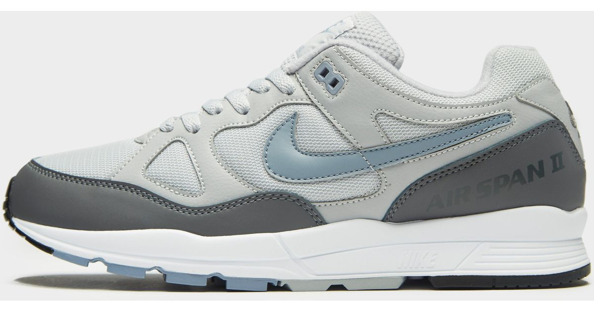 734a05a8e95 Lyst - Nike Air Span Ii Wolf Grey  Ashen Slate in Gray for Men - Save 58%