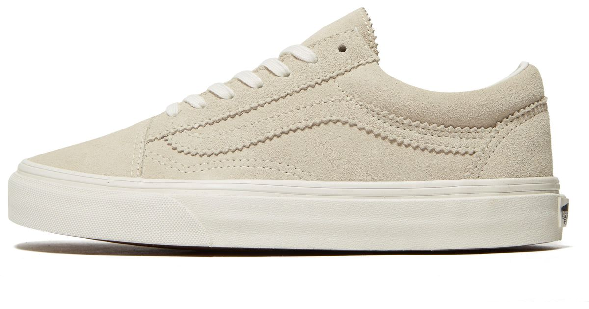 9ad47b7e1e Lyst - Vans Old Skool Suede in Natural for Men