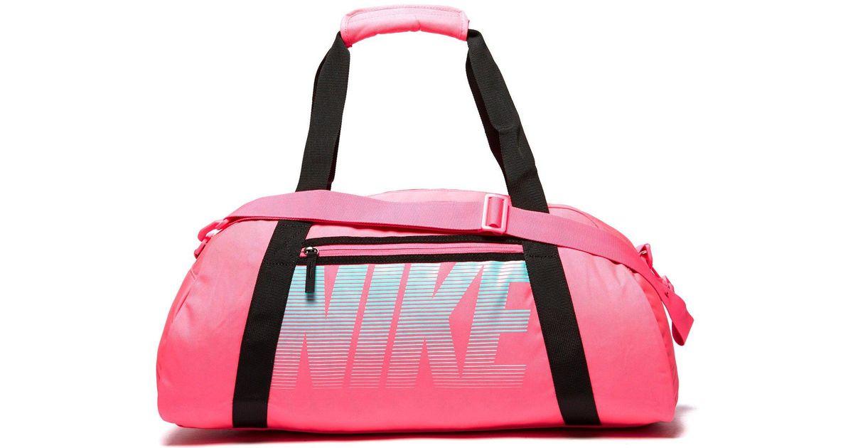 Lyst - Nike Gym Club Training Duffel Bag in Pink 8339113d3255