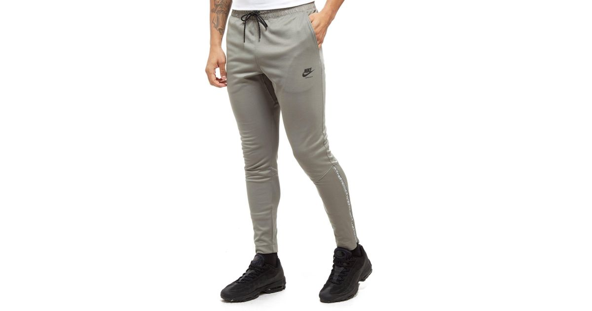 86e680cfbbb4 Lyst - Nike Air Max Poly Track Pants in Gray for Men
