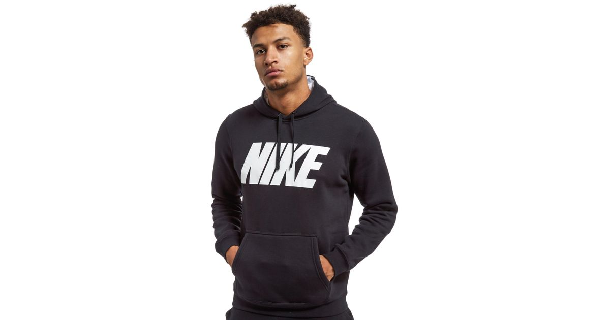 cheap for discount a06cf 1b2bf Nike Club Hoodie in Black for Men - Lyst