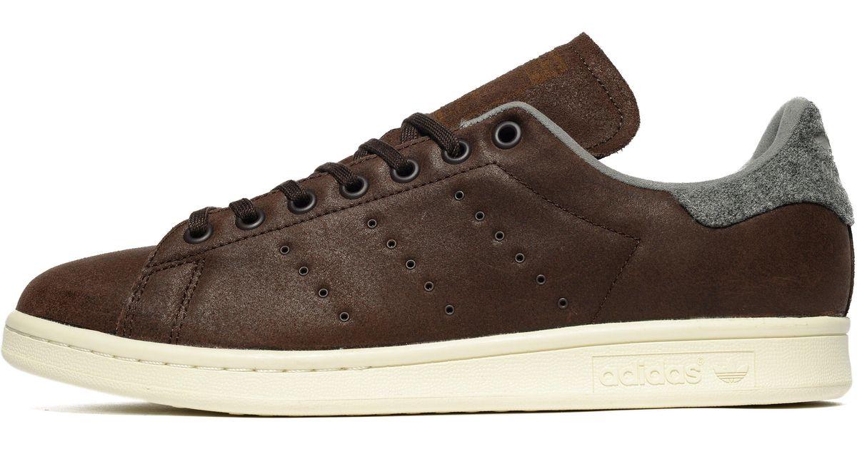 60b53243ad844 Lyst - adidas Originals Stan Smith Winter in Brown for Men