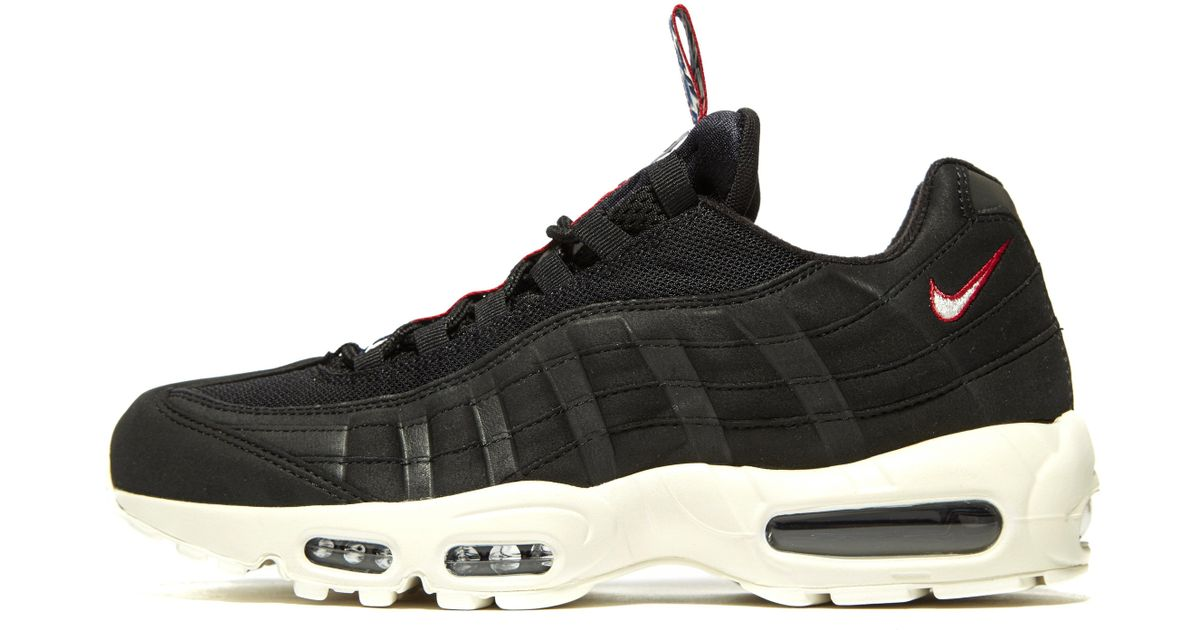 new product 7b356 23f5e Lyst - Nike Air Max 95 Tape in Black for Men