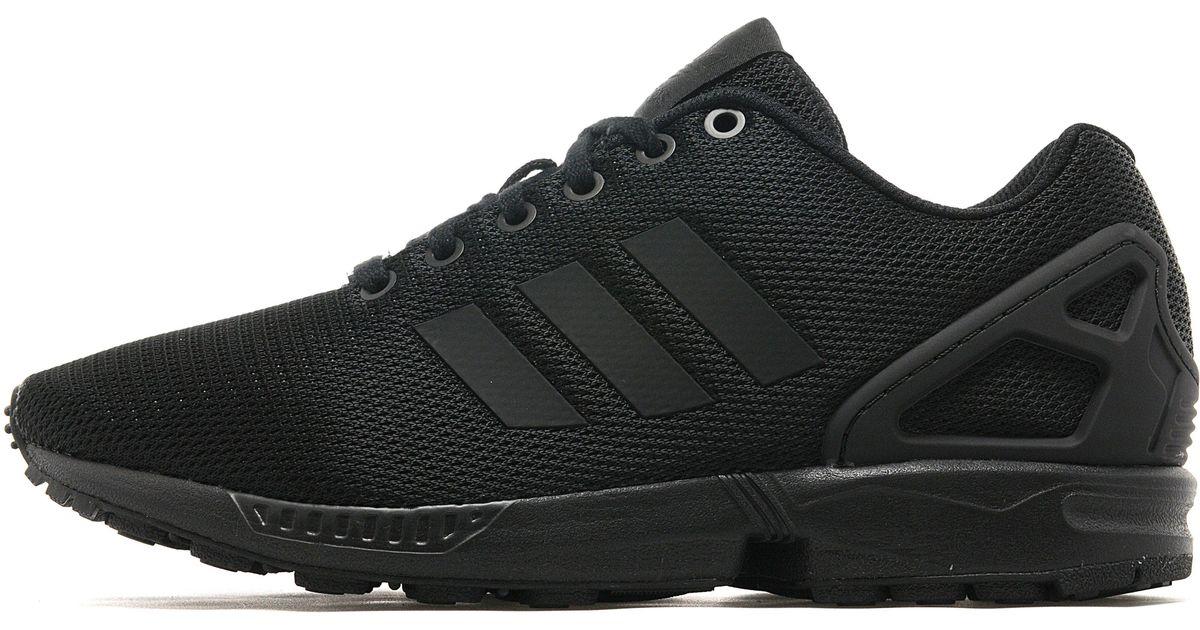 Lyst adidas originali zx flusso in nero per gli uomini.