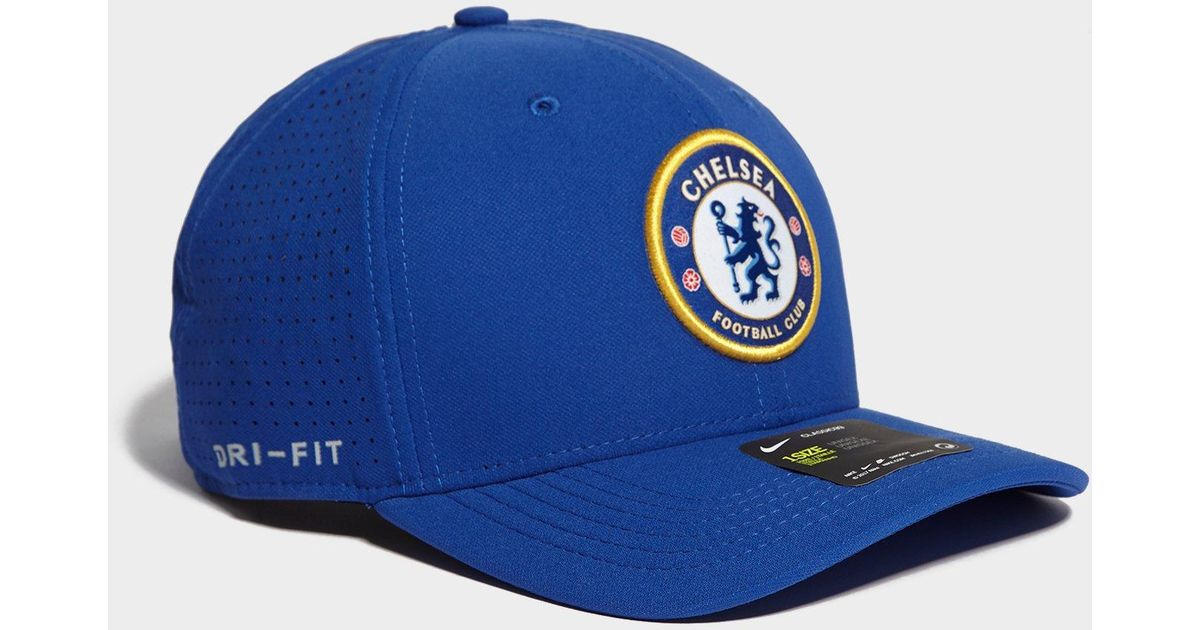 fbe1101159502 Nike Chelsea Fc Aerobill Classic99 Cap in Blue for Men - Lyst