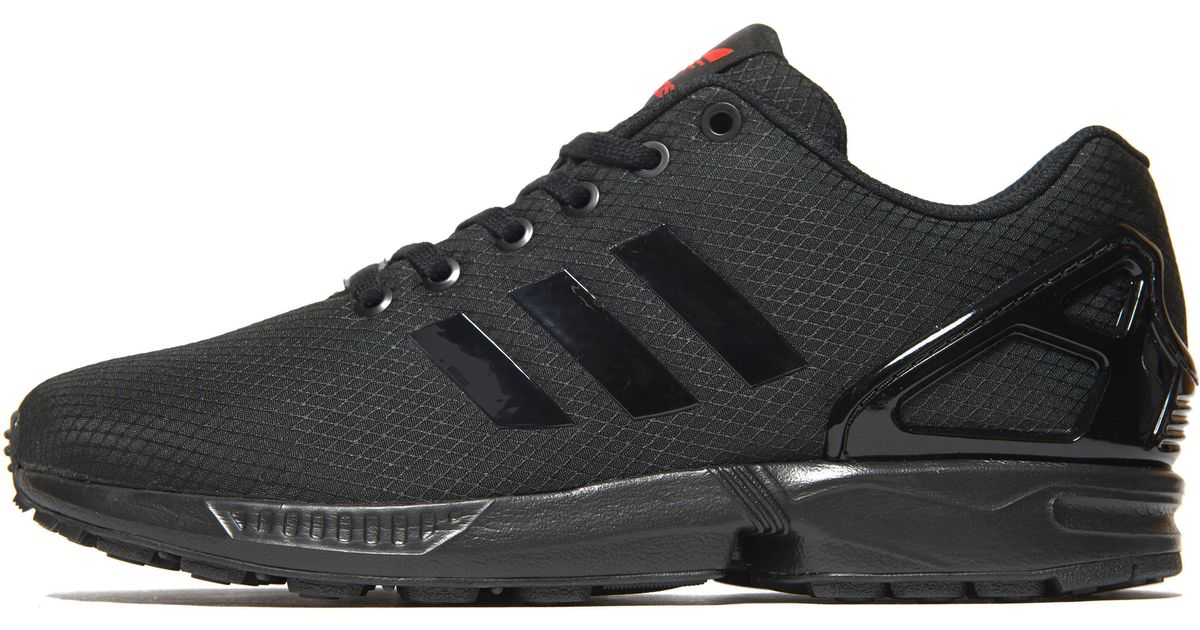 a066090b83096 ... inexpensive lyst adidas originals zx flux ripstop in black for men  ecc1a d6831