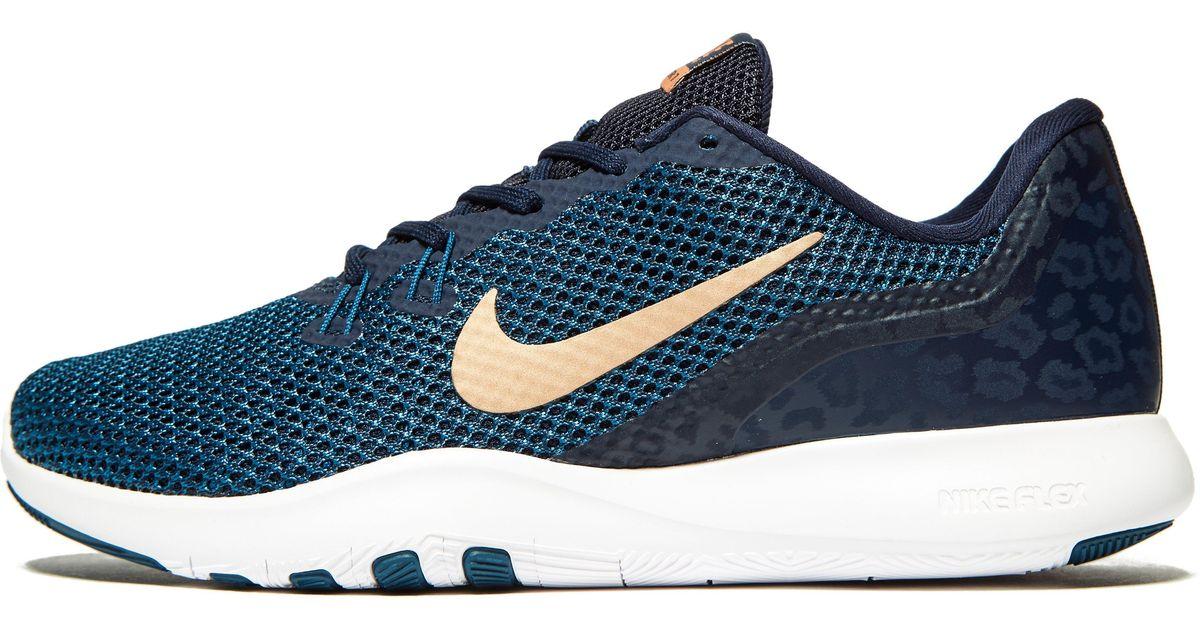 65802226e847 Lyst - Nike Flex Trainer 7 in Blue