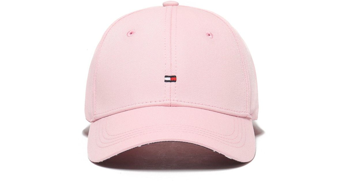 Lyst - Tommy Hilfiger Classic Flag Cap in Pink for Men 131454ceb49