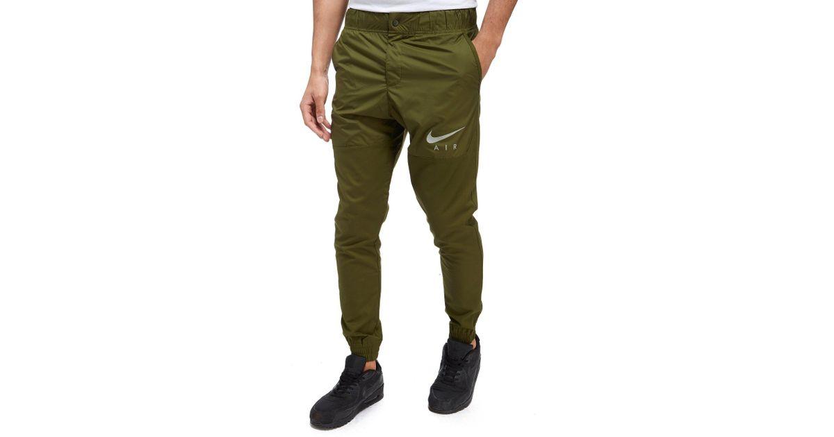 a7bbf66ddf696 Nike Air Hybrid Jogging Pants in Green for Men - Lyst