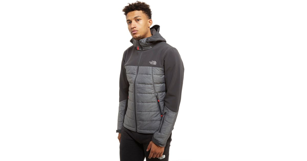 72de1fbc072f ... norway lyst the north face tompkins hybrid jacket in gray for men 52200  16597