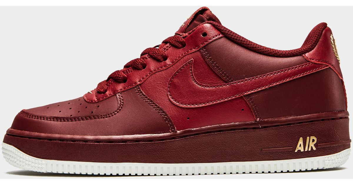 detailed look aac60 ef65d Nike Air Force 1 Low Junior in Green for Men - Lyst