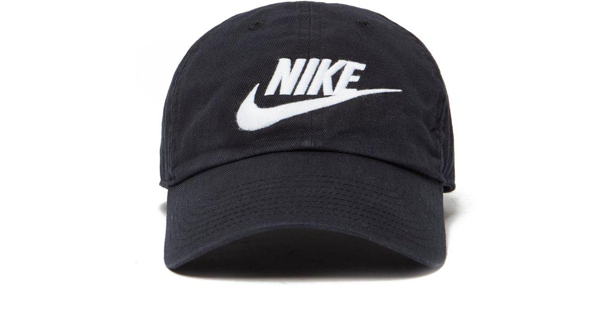 Lyst - Nike Futura Washed Strapback Cap in Black for Men 5702ba923cb