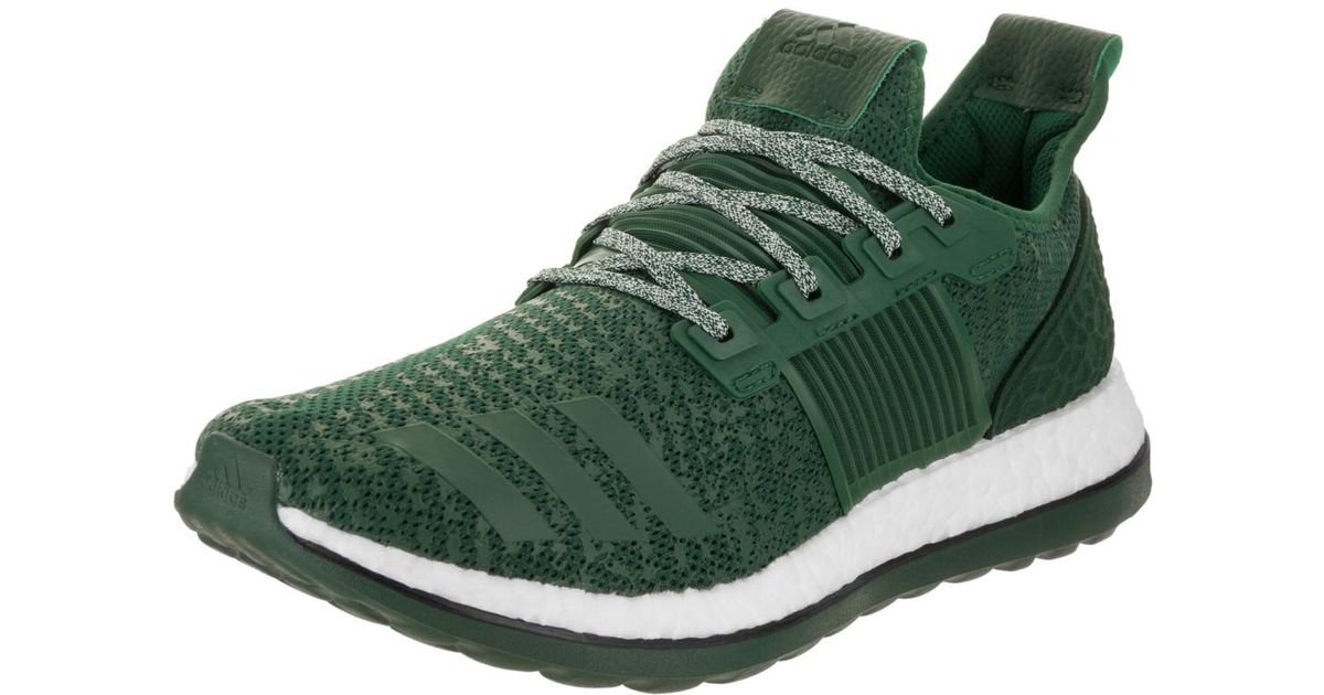a5ccc91c56f70 Lyst - adidas Pureboost Zg Green white Running Shoe 8.5 Men Us in Green for  Men