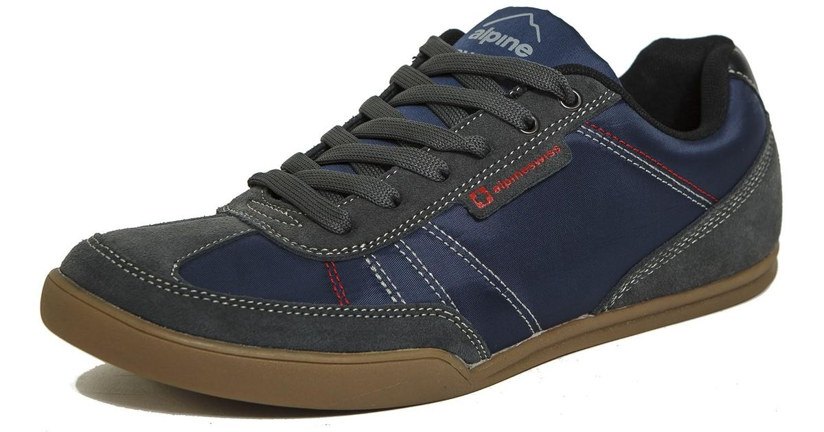 a00e54bae7b Lyst - Alpine Swiss Marco Mens Casual Shoes Sporty Lace Up Jean   Sneaker  Fused Hybrid in Blue for Men
