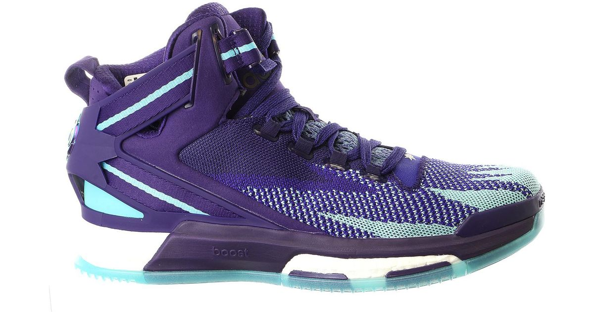 6e8fa4ede19 adidas D Rose 6 Boost Primeknit Basketball Shoes in Blue for Men - Lyst