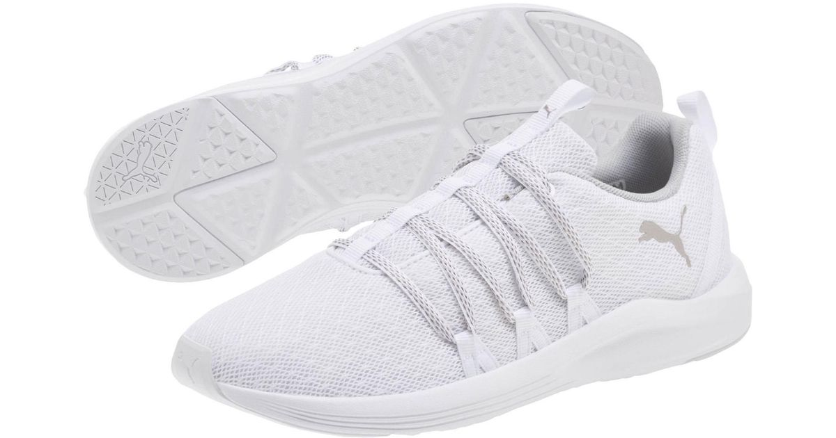 37e79c343bd4b6 Lyst - PUMA Prowl Alt Knit Mesh Running Shoes in White
