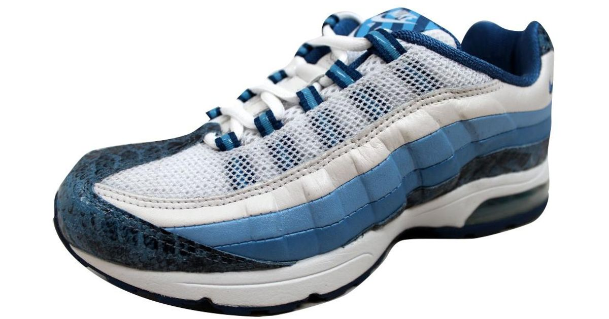newest d0fd8 bd643 Lyst - Nike Air Max 95 Zen White blue-blue Frost-ice Blue 313866-141 in  Blue for Men
