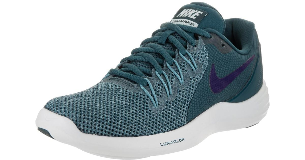 a4817bb9ee9b Lyst - Nike Lunar Apparent Space Blue ink Cerulean Running Shoe 7.5 Us in  Blue for Men