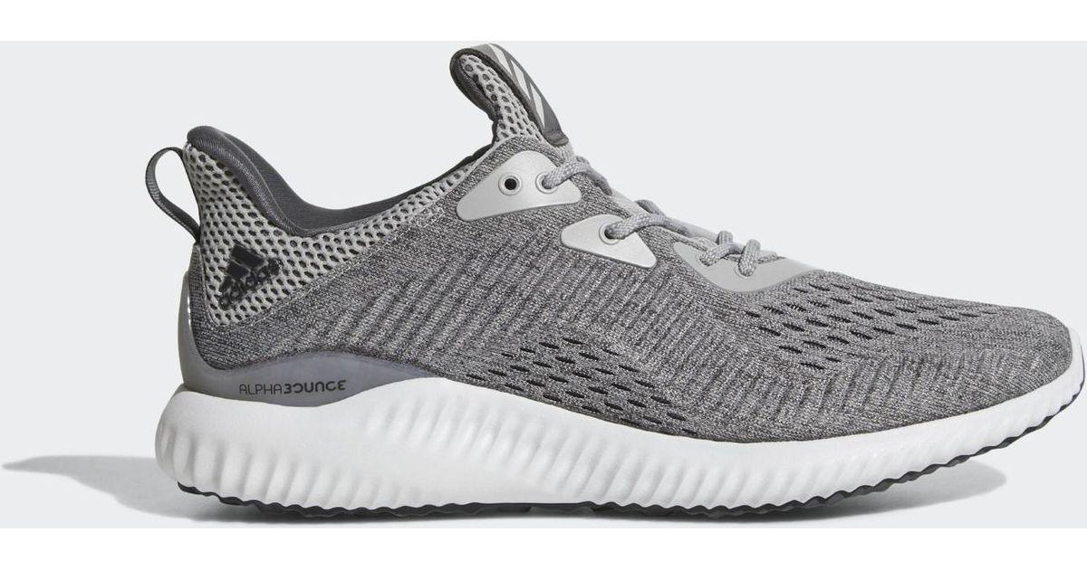 e11b064e1 Lyst - Adidas Alphabounce Em Shoes in Gray for Men
