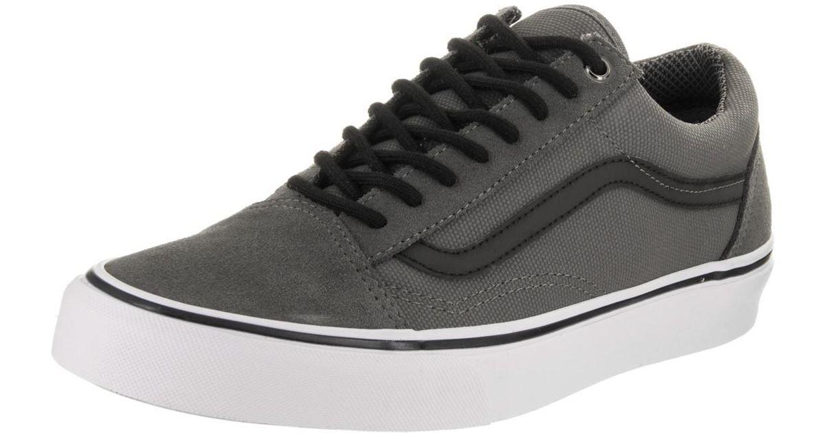 b3392afb5e Lyst - Vans Unisex Old Skool (reflective) Pewter Skate Shoe 5.5 Men Us   7  Women Us in Black for Men