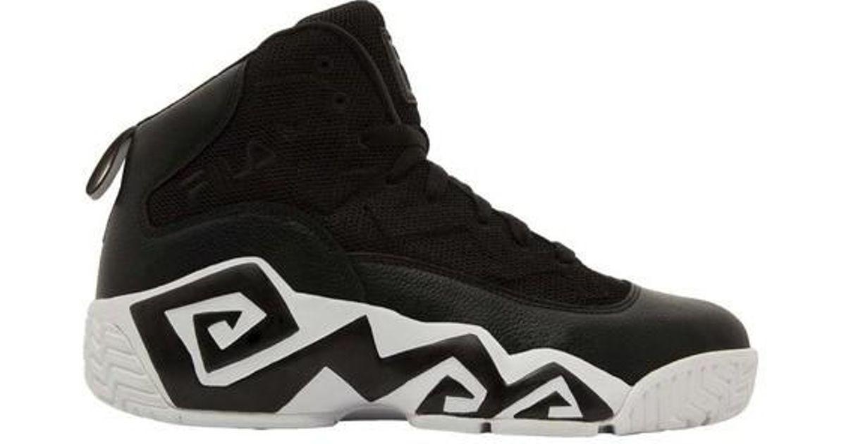 10bd093078f Lyst - Fila Mb Mesh Basketball Shoe in Black for Men