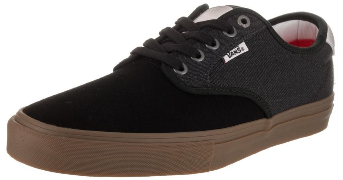 4a987d62d390 Lyst - Vans Chima Ferguson Pro (covert Twill) Black gum Skate Shoe 12 Men  Us in Black for Men
