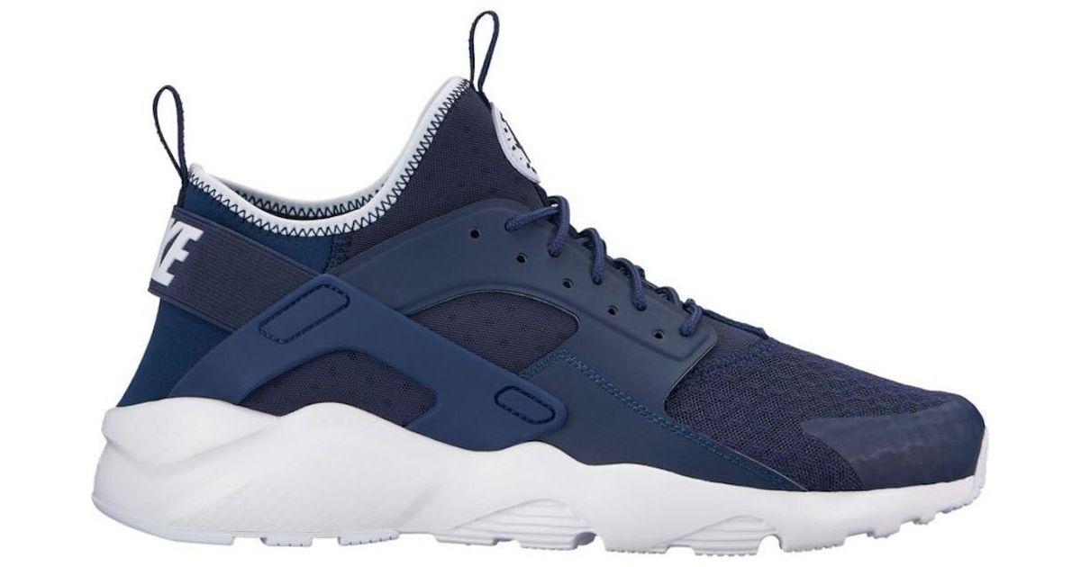 7dd591c5fa704 Lyst - Nike Air Huarache Run Ultra Midnight navy obsidian white Running  Shoe 10 Men Us in Blue for Men