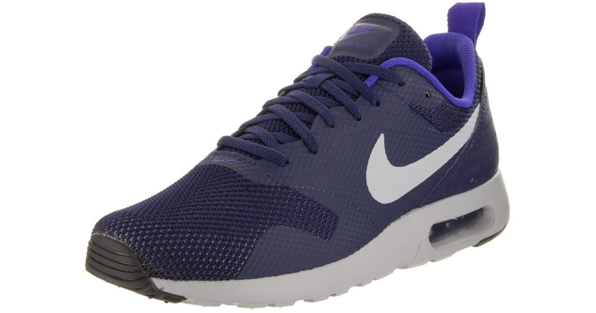 official photos 64952 d817f ... discount code for lyst nike air max tavas binary blue wolf grey running  shoe 8.5 men