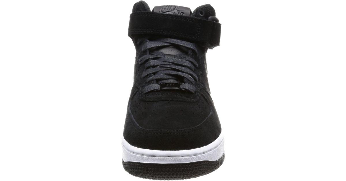Lyst - Nike 818596-003   Air Force 1  07 Mid Seasonal Basketball Shoe (11.5  B(m) Us) in Black 463b3ad43