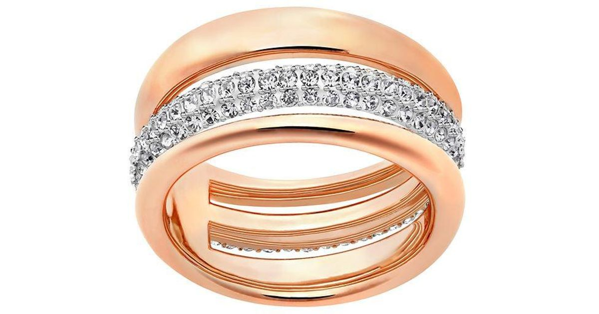 192167b76b474 Swarovski - Metallic Exact Ring Size 6 - Lyst
