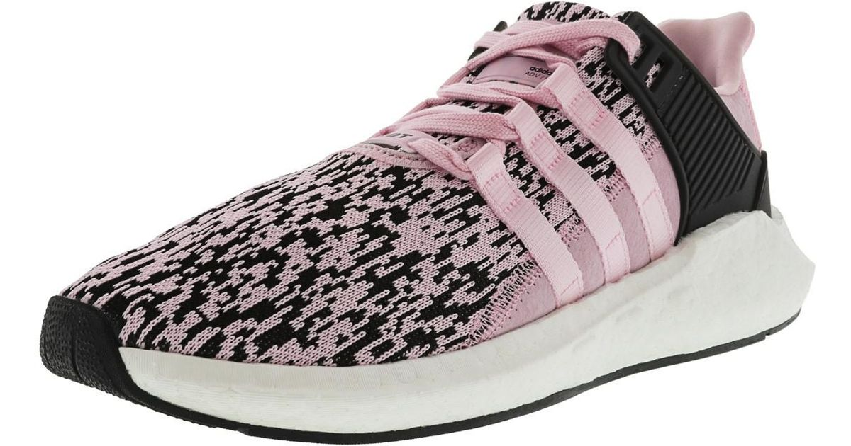 4b29ae855 Lyst - adidas Eqt Support 93 17 Wonder Pink   Footwear White Ankle-high  Running Shoe - 10m in Pink for Men