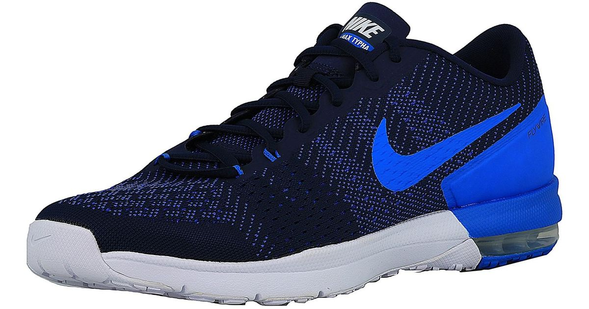d77aa45479 france nike mens air max typha 2 giants training shoes 43336 cca80  spain lyst  nike air max typha midnight navy white racer blue photo blue ankle high mesh