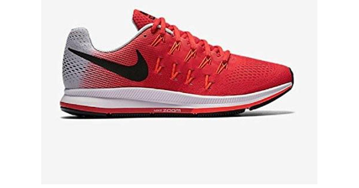 cd439d651207 Lyst - Nike Air Zoom Pegasus 33 in Red for Men
