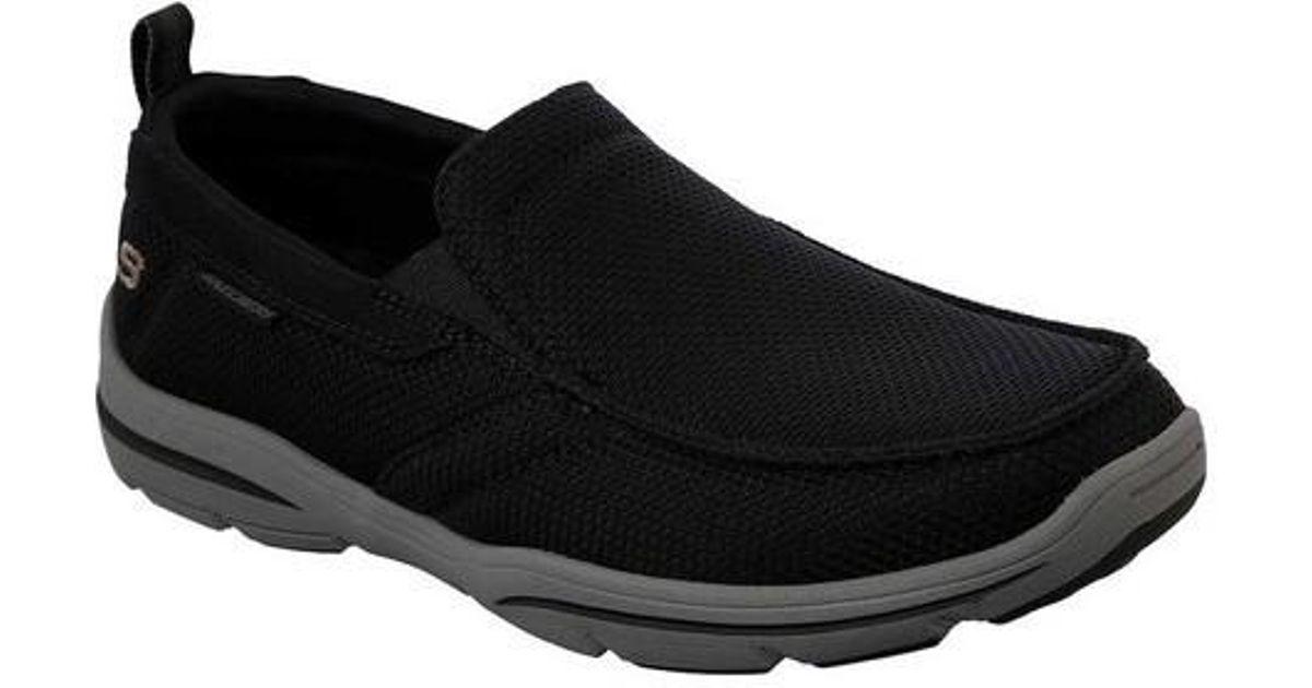 531b83fa7bb4 Lyst - Skechers Relaxed Fit Harper Walton Loafer in Black for Men