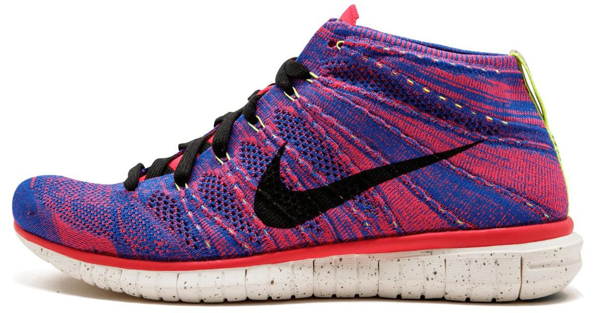 reputable site 8f5eb a6196 Nike Free Flyknit Chukka Pr Qs - 640652 400 for Men - Lyst