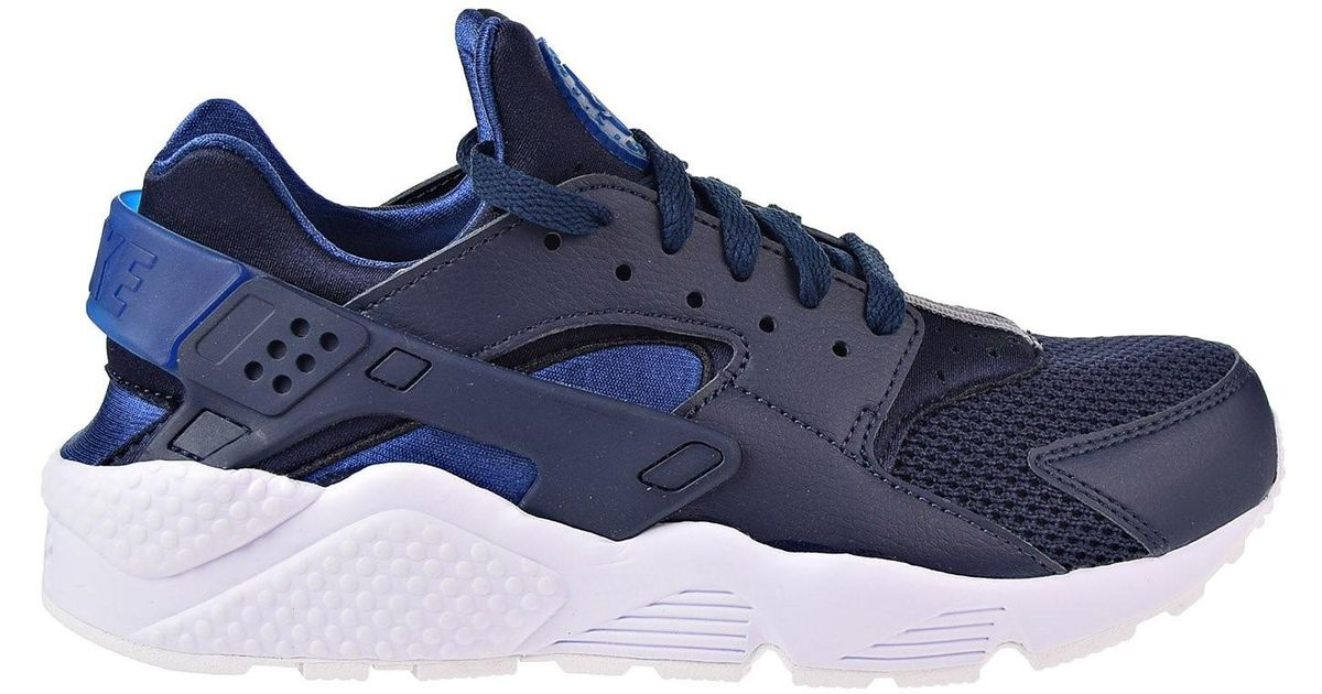 quality design 9ed86 9855c Lyst - Nike 318429-420  Air Huarache Black blue white Sneakers in Blue for  Men