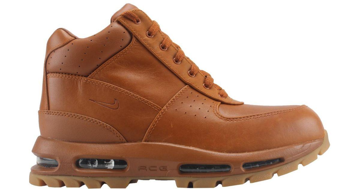 78ca3e1af7a242 ... Lyst - Nike Air Max Goadome Shoes Tawny gum Light Brown 865031-208 (10  ...