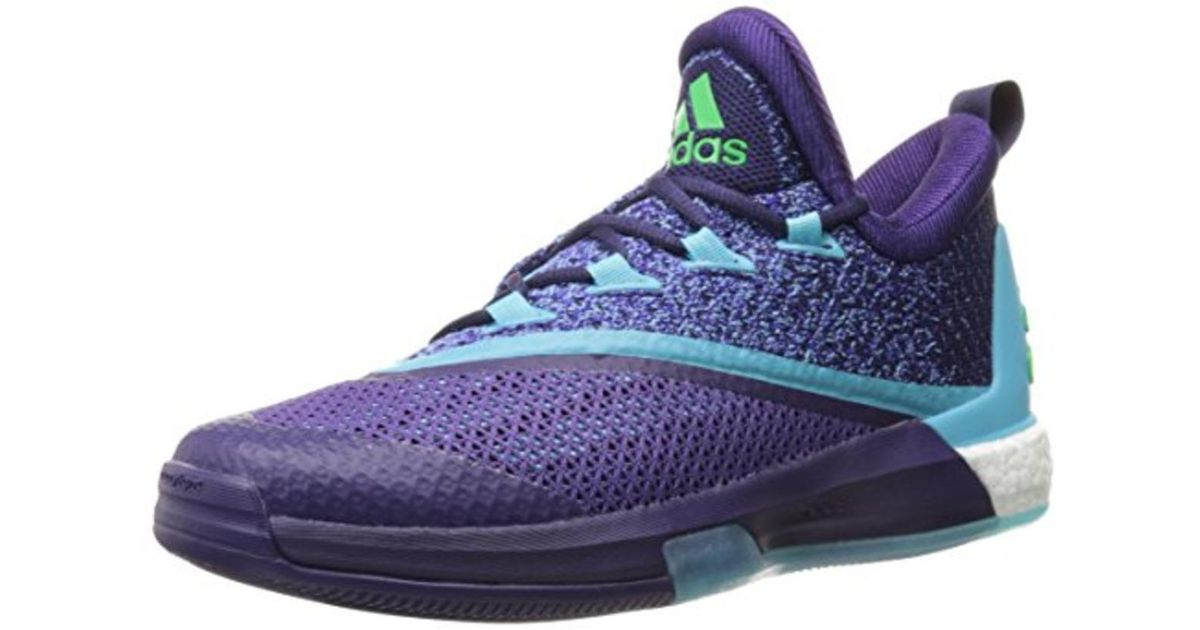 super popular 8c530 63e8b Lyst - adidas Crazylight Boost 2.5 Mesh Glow In Dark Basketball Shoes in  Blue for Men