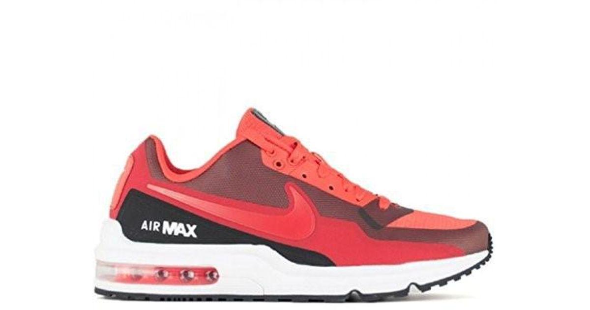 purchase cheap 95fc1 3662d ... reduced lyst nike 801728 660 air max ltd 3 mod red black fashion casual  running men