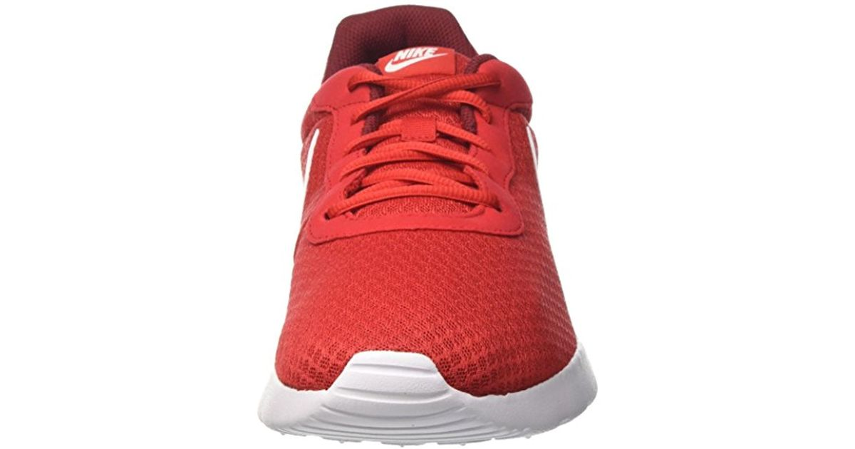 new product ad56d 620df ... where can i buy lyst nike tanjun university red white team red running  shoe 13 men