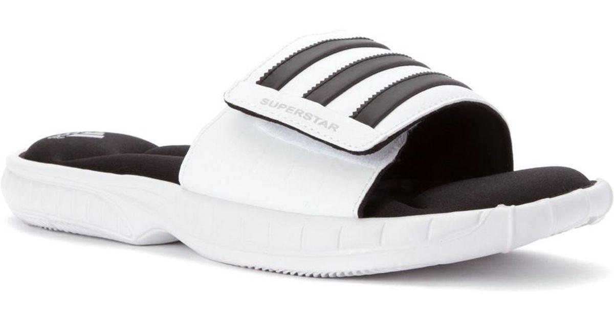 dd24496064b4 Lyst - adidas Superstar 5g (black white black) Men s Slide Shoes in White  for Men